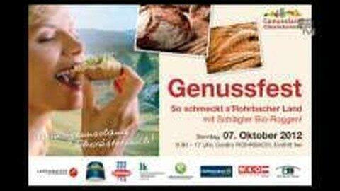 Ankündigung Genussfest Rohrbach