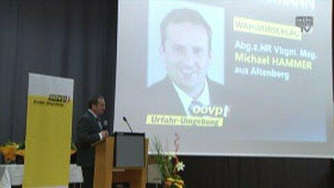 Bezirksparteitag ÖVP UU in Gramastetten