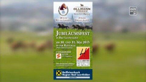 Ankündigung Jubiläumsfest Pferdehof Ollmann