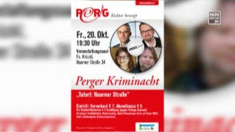 Ankündigung Perg liest – zweite Perger Kriminacht am 20.10.2017