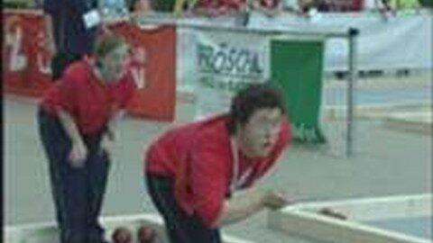 Para Olympics Bocciameisterschaften in Perg