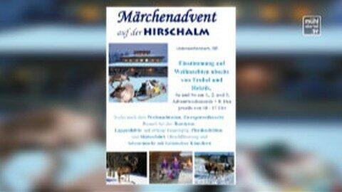 Ankündigungen Adventmarkt auf der Hirschalm