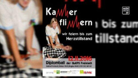 Ankündigung Diplomball der Gesundheits- u. Krankenpflegeschule Freistadt