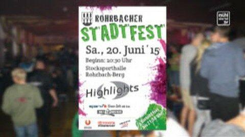 Ankündigung Rohrbach-Berger Stadtfest