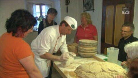 Brotbacken wie zu Großmutter's Zeiten