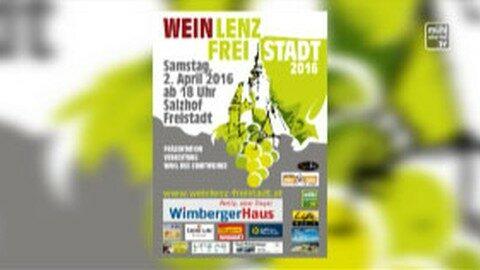 Ankündigung Weinlenz im Salzhof Freistadt