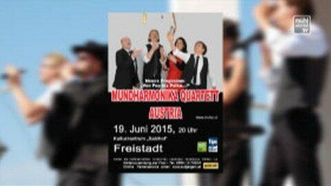 Ankündigung Mundharmonikakonzert im Salzhof