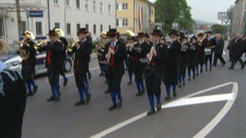 Maiaufmarsch der SPÖ Freistadt 2014