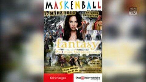 Ankündigung Maskenball in Freistadt