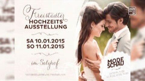 Ankündigung Hochzeitsausstellung 2015