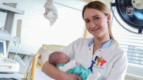 Geburtenanstieg in RO und FR