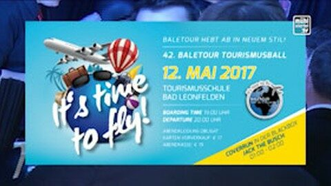 Ankündigung Tourismusball Bad Leonfelden 2017