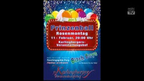 Ankündigung Prinzenball Perg 2013