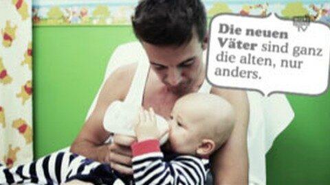 """Werbung: """"Aktive Vaterschaft"""""""