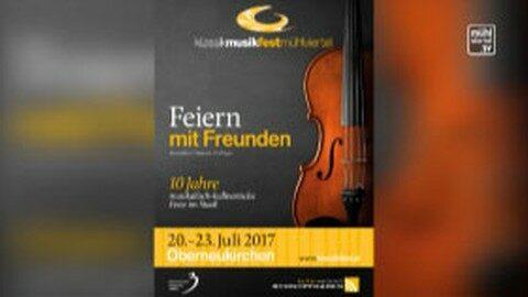 Ankündigung Klassik Musikfest Mühlviertel im Schnopfhagenstadel in Oberneukirchen