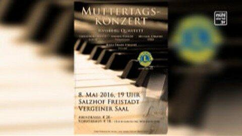 Ankündigung Muttertagskonzert im Salzhof Freistadt