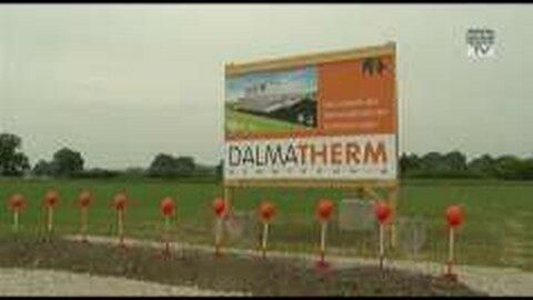 Spatenstich Firma Dalatherm Dämmtechnik