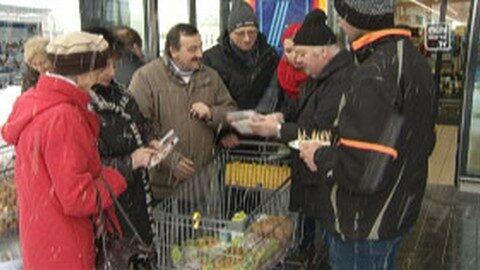 Sympathiekundgebung für regionale Lebensmittel in Freistadt
