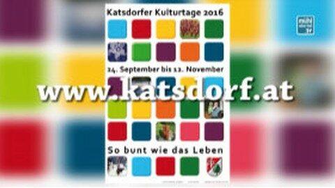 Ankündigung Katsdorfer Kulturtage 2016