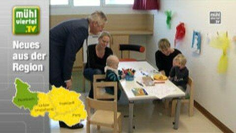 Betriebliche Kindertagesstätte am LKH Rohrbach feiert einjähriges Jubiläum