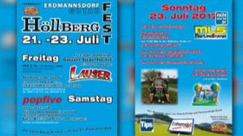 Ankündigung Höllbergfest in Gutau