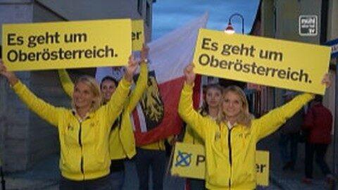 ÖVP Bezirkskundgebung in Schwertberg