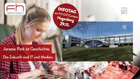 Ankündigung FH Hagenberg Infotag