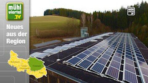 Wenn die Sonne scheint, ist Buchner 100 % autark bei Energieversorgung