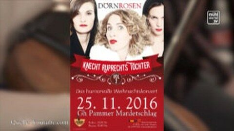 Ankündigung Gasthaus Pammer, Mardetschlag, Dornrosen, Kabarett, 25.11.2016, 20 Uhr