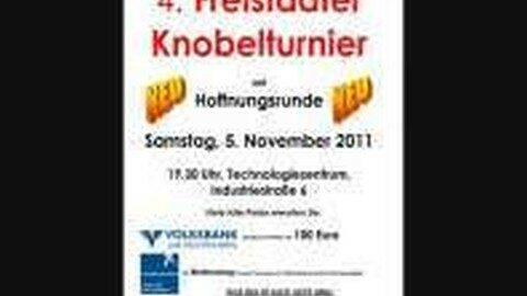 Ankündigung Knobel-Turnier in Freistadt