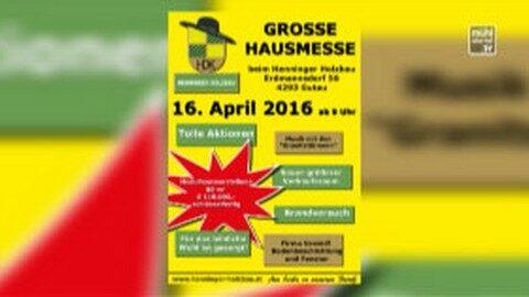 Ankündigung Henninger Holzbau Hausmesse