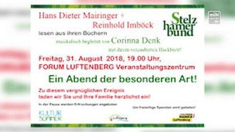 Ankündigung Stelzhamerbund Autorenabend in Luftenberg