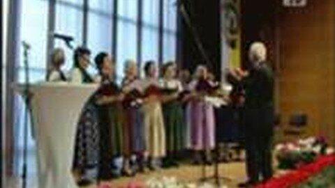 """Seniorenbund """"Mühlviertler Singen"""" im Gramophon"""