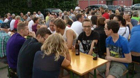 Fanzone in Julbach – Race Around Austria