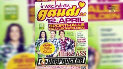 Ankündigung Trachtengaudi in Bad Leonfelden mit Gewinnspiel