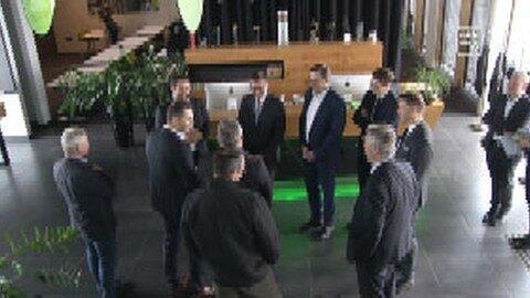 Bezirkstag LR Achleitner in Rohrbach – Besuch Firma Loxone in Kollerschlag