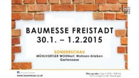 Ankündigung Baumesse Freistadt 2015