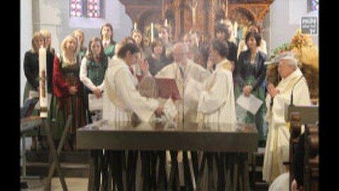Altarweihe in Goldwörth