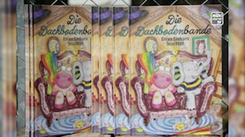 "Neues Kinderbuch ""Die Dachbodenbande"""