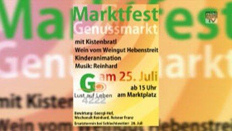 Ankündigung Marktfest in St. Georgen an der Gusen