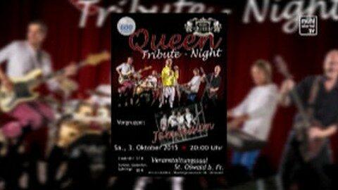 Ankündigung Queen Tribute Night in St. Oswald bei Freistadt