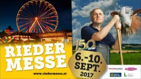 Ankündigung Rieder Messe 2017
