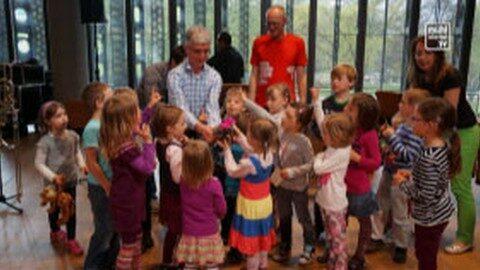 Kinder aus Lichtenberg besuchen Musiktheater