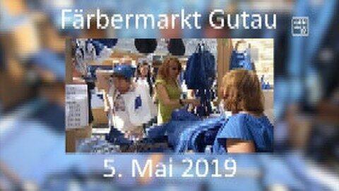 Ankündigung Färbermarkt Gutau 2019
