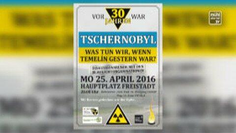 Ankündigung Vor 30 Jahren war Tschernobyl