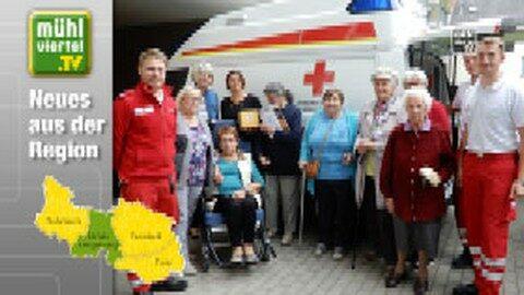 Das Rote Kreuz Walding zu Besuch im Betreubaren Wohnen