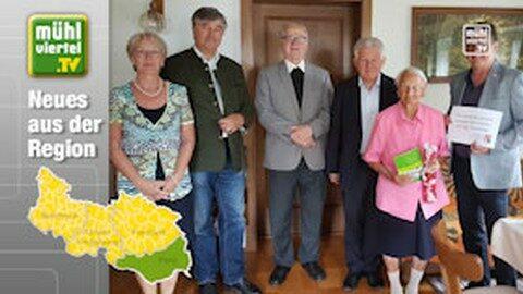 100-jährige in Katsdorf
