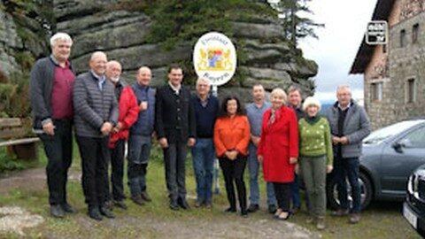 Sternwanderung auf den Dreisesselberg anl. 30 Jahre Fall Eiserner Vorhang