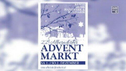 Ankündigung 22. Alberndorfer Adventmarkt