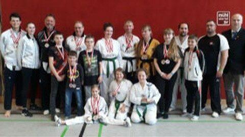 Erfolg bei der Taekwondo Landesmeisterschaft